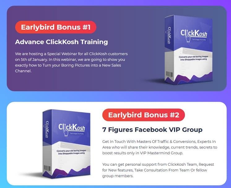 Clickkosh 2.0 Review Vendors Bonuses