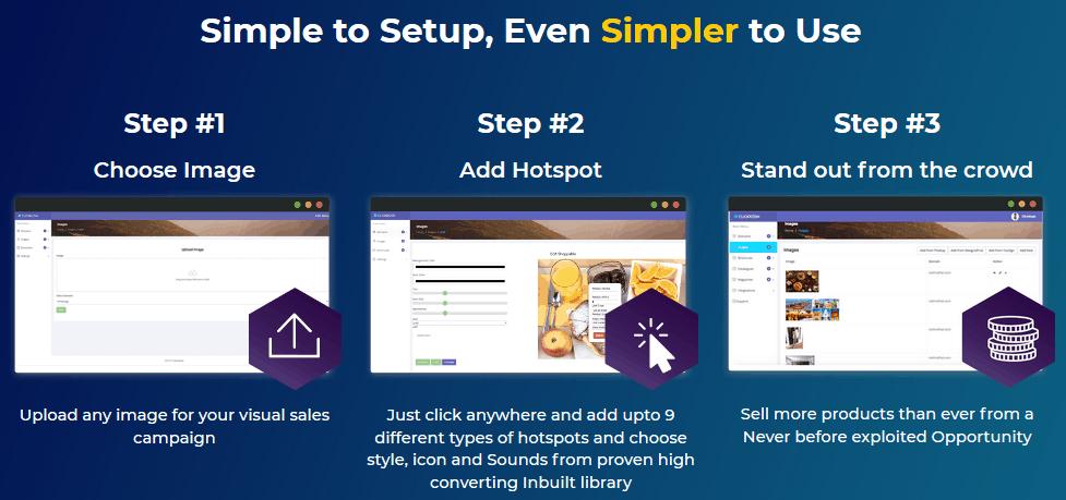 ClickKosh 2.0 - steps