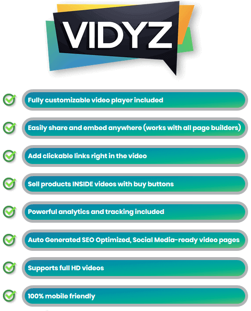 Vidyz Review - Features In A Nutshell