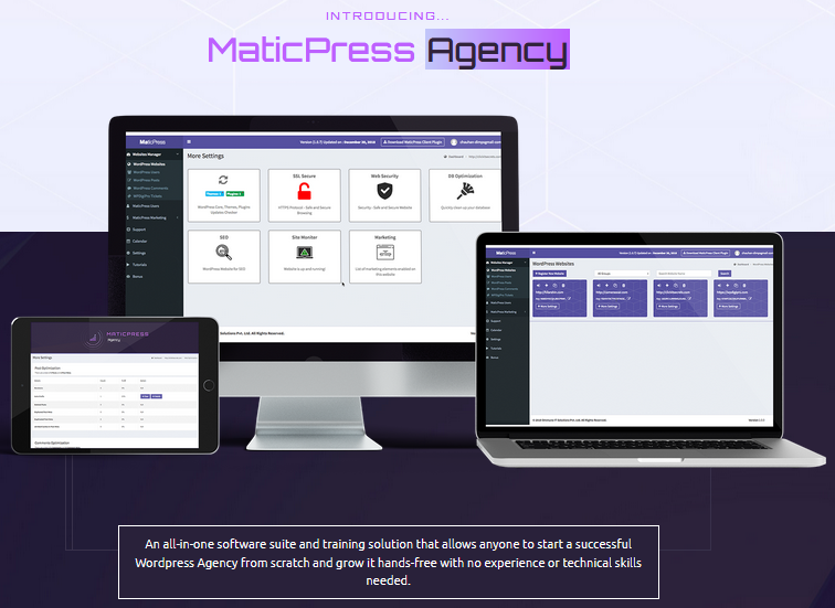 MaticPress Agency - introduction