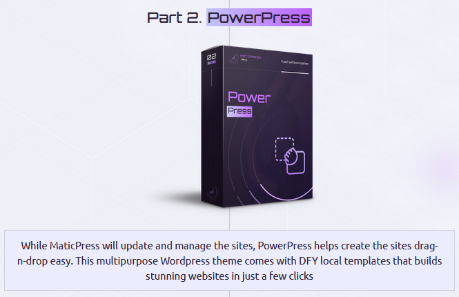 MaticPress Agency - Power Press - FEATURES1