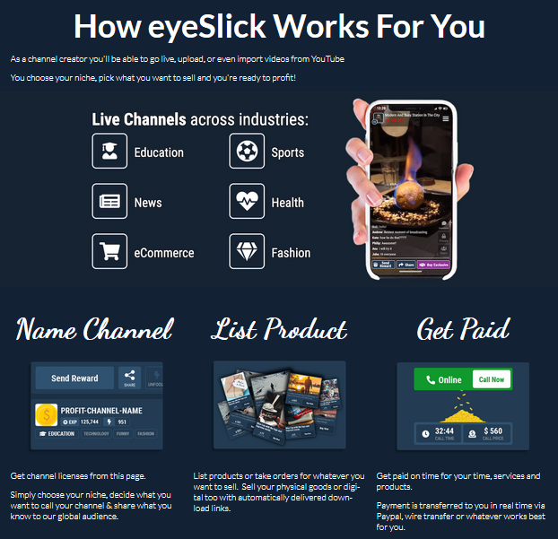 EyeSlick Review - How it works