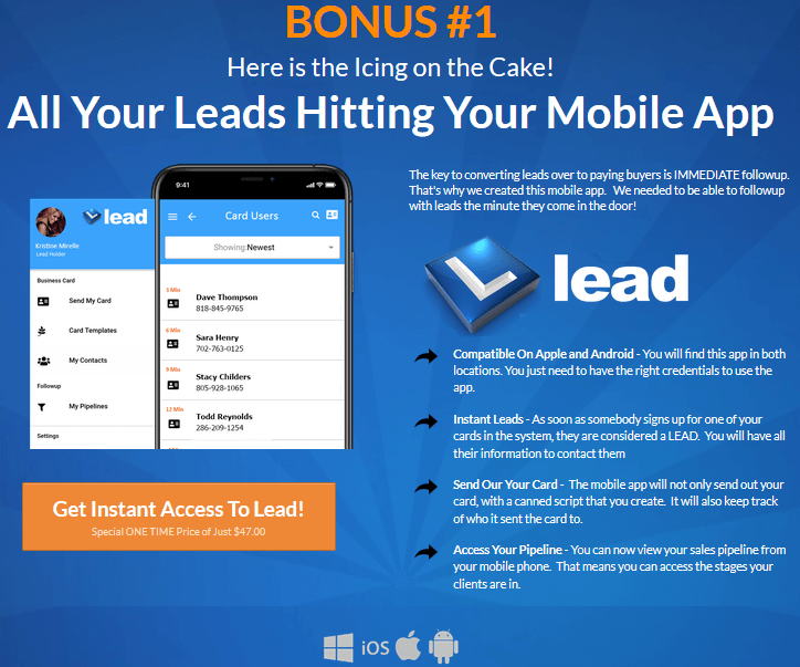 Lead App Review - Bonuses (1)