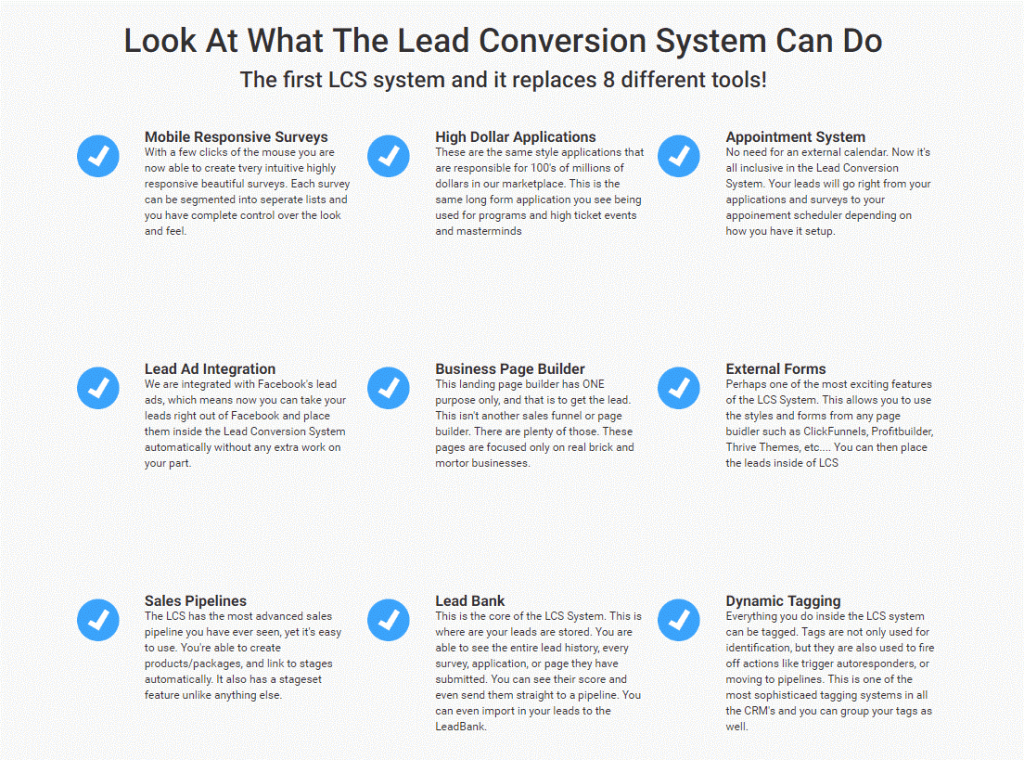 Lead App Review - Features (In A Nutshell)