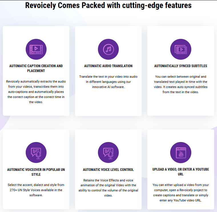 Revoicely Review - Features (1)