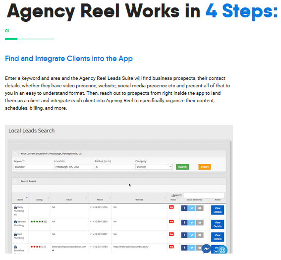 AgencyReel Review - Steps (1)