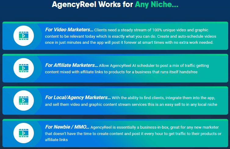 AgencyReel Review - Who it is for
