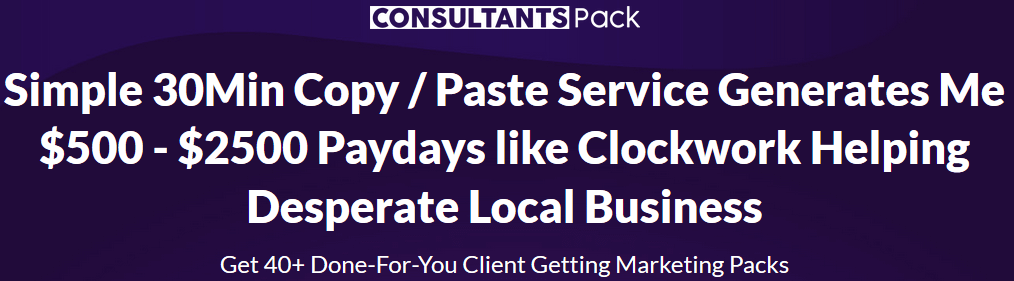 Consultants Pack Review