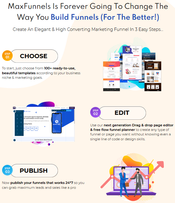 MaxFunnels 2.0 Review - Steps