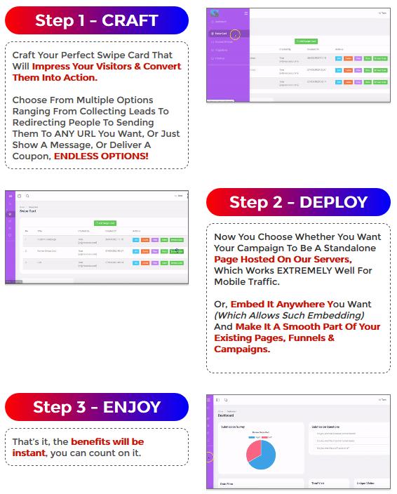 Swypio Review - Steps
