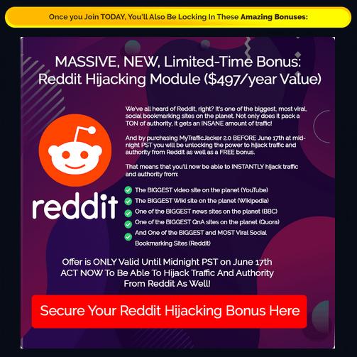 MyTrafficJacker 2.0 Review - Bonus