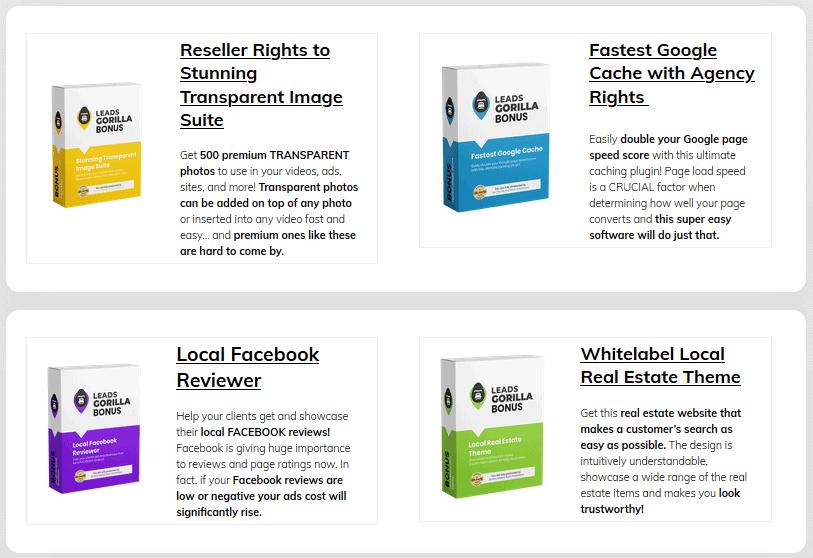 LeadsGorilla Review - Bonuses (1)