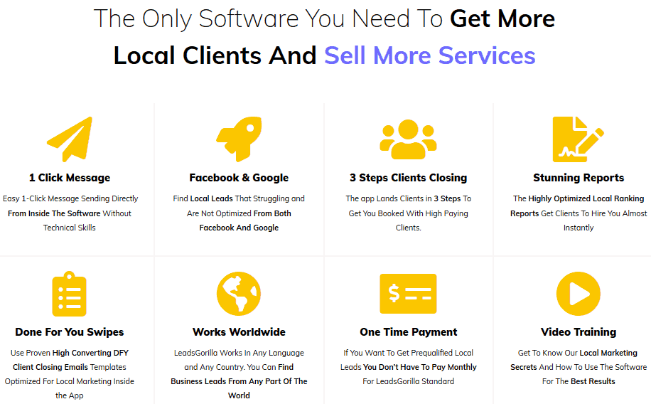LeadsGorilla Review - Getting more clients