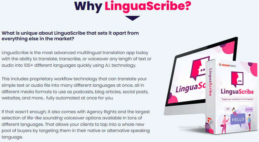 LinguaScribe Review - Intro