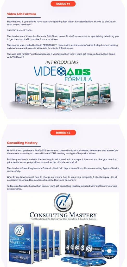 ViidCloud Review - Bonuses