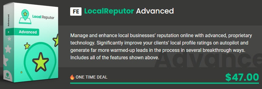 LocalReputor Review - Funnel FE