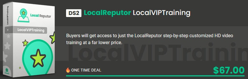 LocalReputor Review - Funnel OTO2-DS